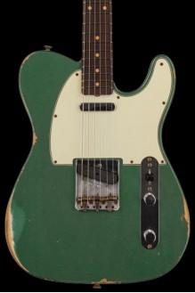 #29 LTD '61 Telecaster - relic, aged sherwood green metallic preorder