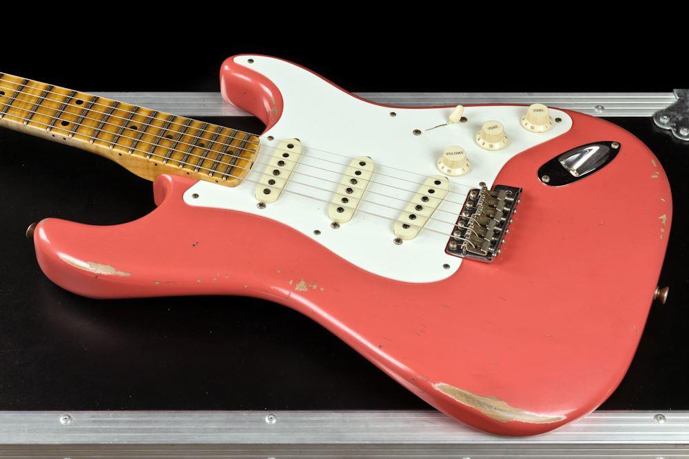 Fender Custom Shop 1958 Stratocaster Relic Ltd Ed Fiesta Red